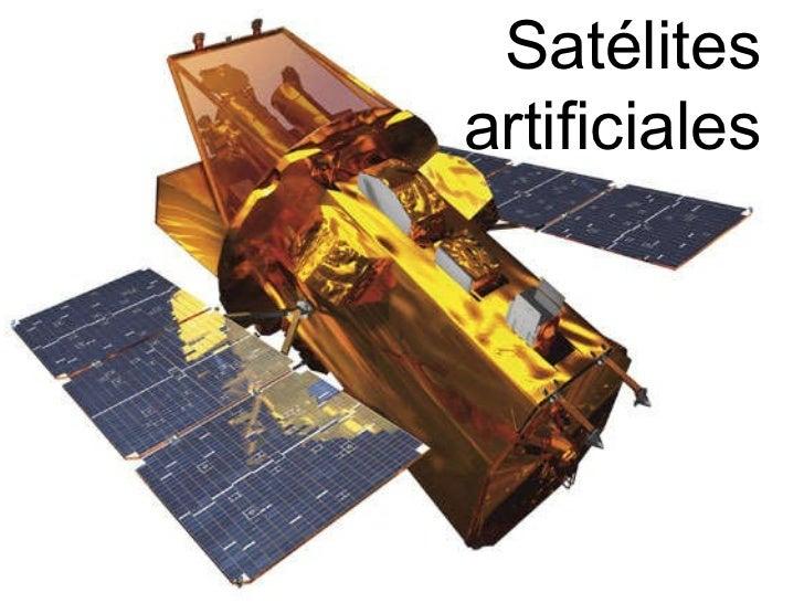 Satélites artificiales