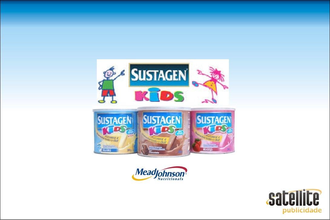 A CAMPANHA  Produto: Sustagen Kids          Título:            Slogan: