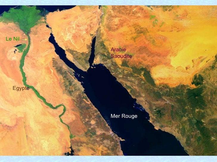 Le Nil Egypt e Mer Rouge Arabie Saoudite