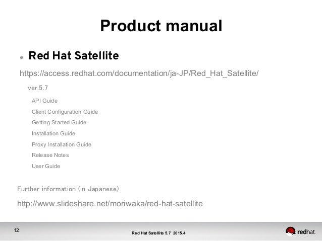 red hat satellite rh slideshare net Red Binder Red Folder