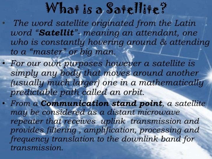 Satellite   communication Slide 3