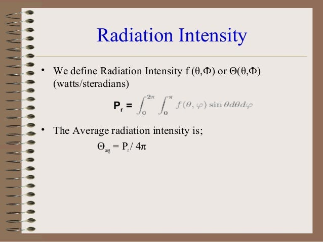 Antenna Effective Area • Measure of the effective absorption area presented by an antenna to an incident plane wave. • Dep...