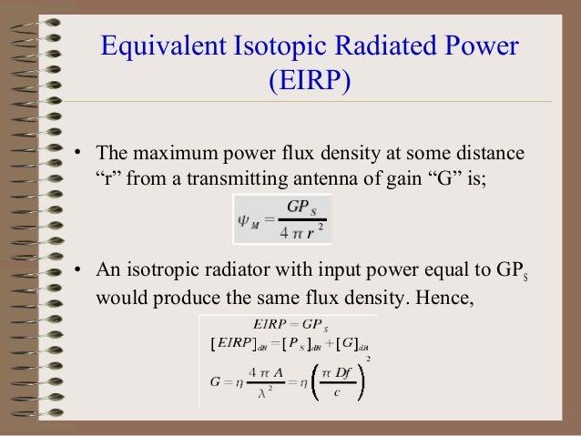 Radiation Pattern • Radiation pattern characteristics/parameters: – – – – – –  Half-power beam width Main lobe Side lobes ...