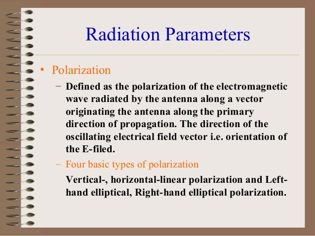 Antenna Radiation Pattern Lobes and Nulls • A radiation lobe can be defined as a portion of radiation pattern bounded by r...
