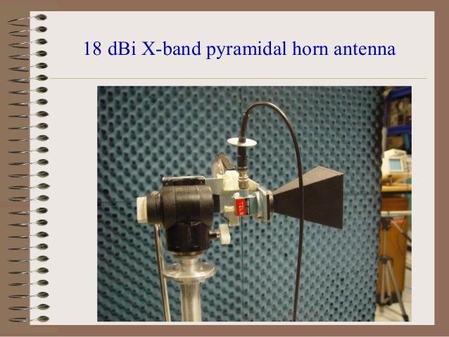 Signal Power Calculation Antenna Gain G = η (Π * d / λ) 2 [dBi] Where, λ=C/f, C = Speed of light f = frequency of interest...
