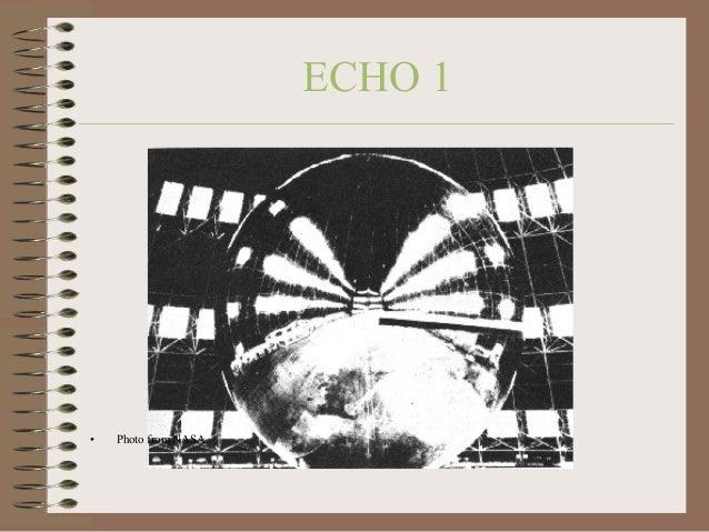 ECHO 1  •  Photo from NASA