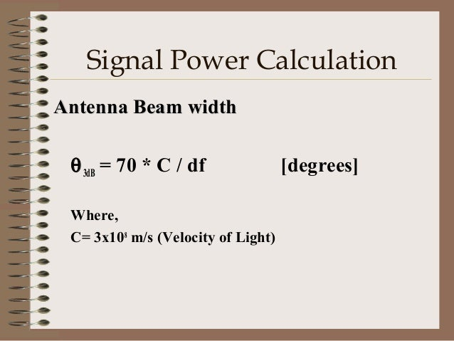 Eb/No (Energy per bit per Noise Power Density) – Is the performance criterion for any desire BER – It is the measure at th...