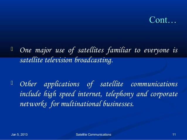 essay about advantages and disadvantages of satellite tv