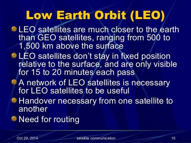 satellite powerpoint