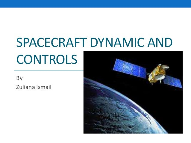 spacecraft dynamics and control sidi - photo #30