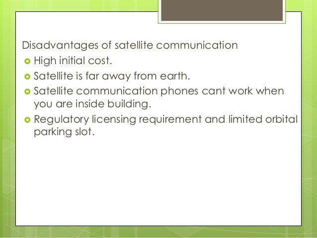 Satellite System Links