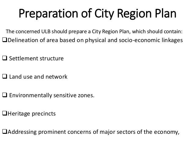 Integration of Planning Process between the Mother City and Satellite Towns. The planning process of the Mother town and t...