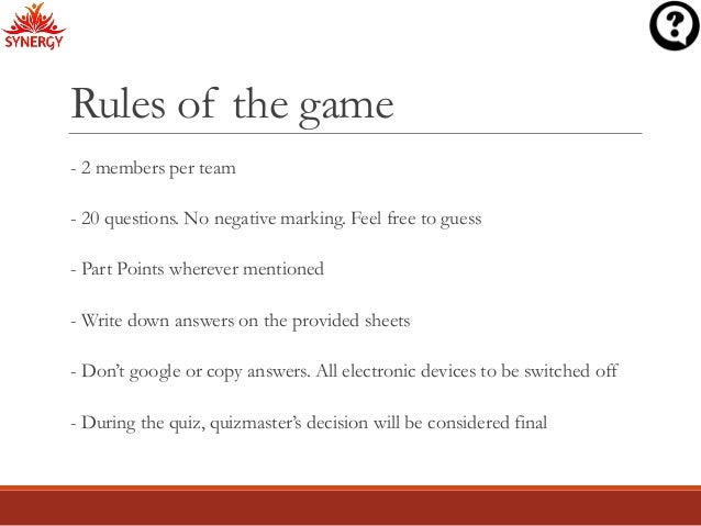 rules of the game essay questions In other words, smart essay questions are a great way for colleges to  that we  take seriously a set of rules entirely peculiar to the circumstance of the game.