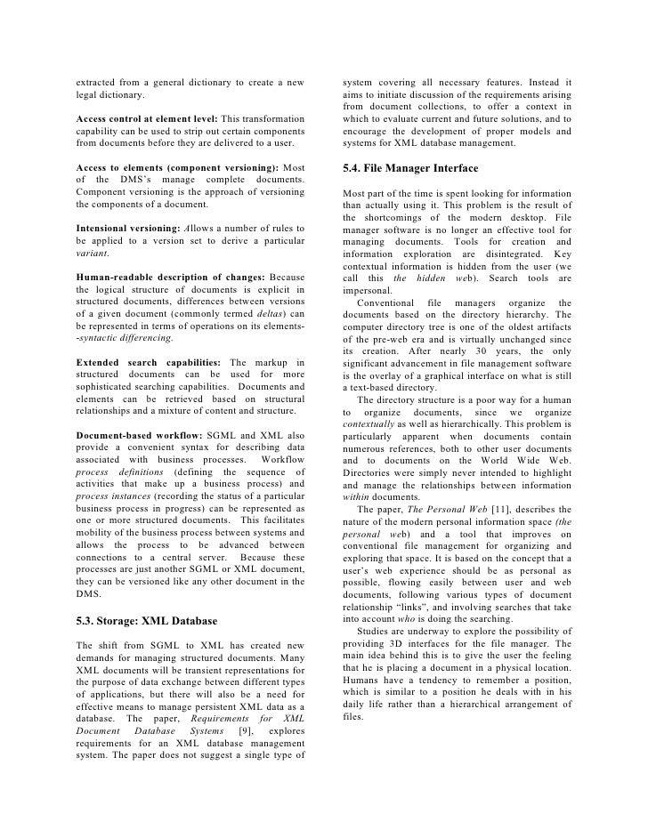 Document Management Techniques & Technologies