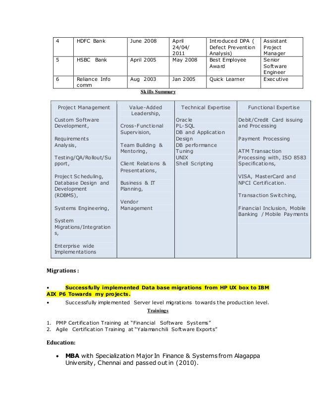 sathish resume