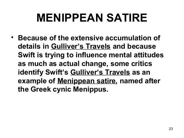satiric prose examples