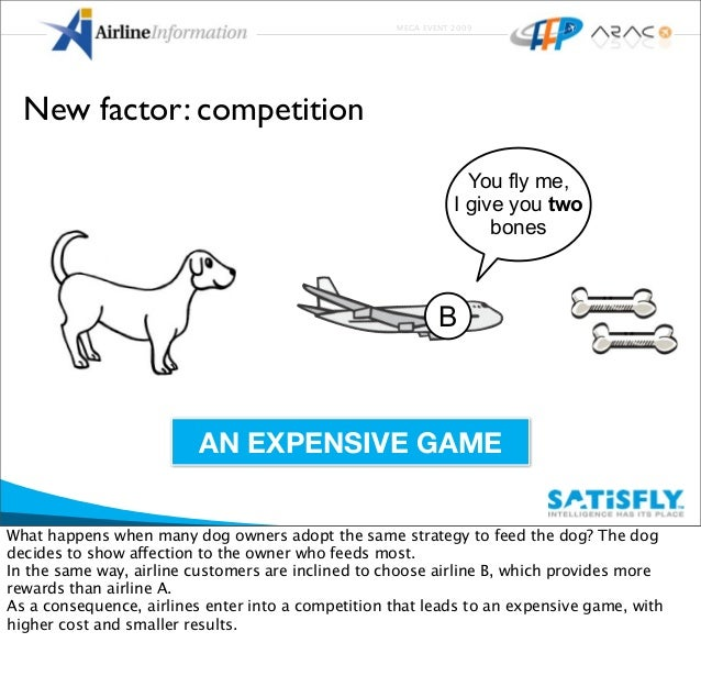 MEGA EVENT 2009 New factor: competition You fly me, I give you two bones B AN EXPENSIVE GAME What happens when many dog ow...
