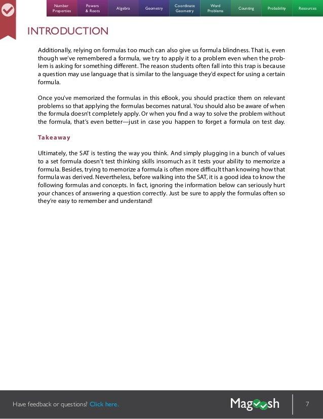 new sat math formulas pdf