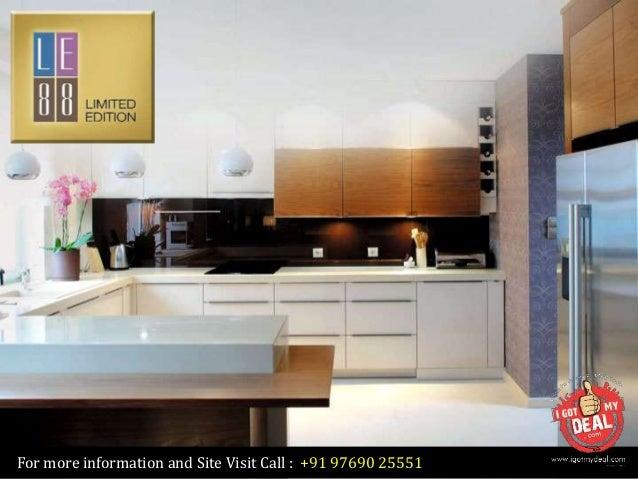 Satra LE   88 at Bandra West  Mumbai by Satra Group. Modular Kitchen In Mumbai Bandra. Home Design Ideas