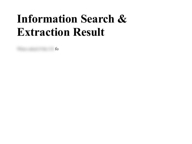 InformationSearch& ExtractionResult WhenaskediftheUSWhenaskediftheUSfoodwarmerheatedtheheatedthefoodad...