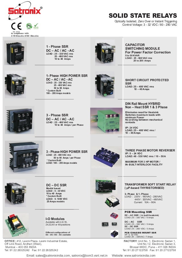 TM                                                                                             SOLID STATE RELAYS         ...