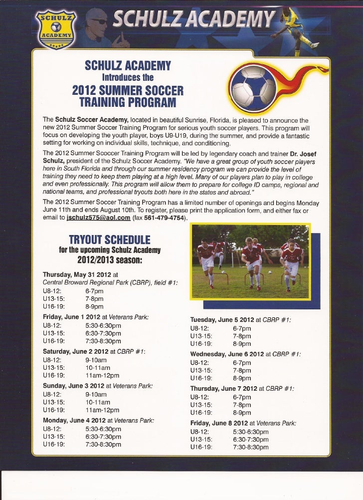 Sa try out schedule