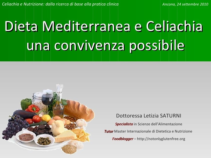Dottoressa Letizia SATURNI Specialista  in Scienze dell'Alimentazione Tutor  Master Internazionale di Dietetica e Nutrizio...