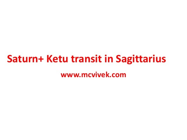 How will be the Saturn Ketu transit in Sagittarius 2019-2020