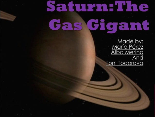       Saturn is the 6th planet in our Solar System.It's considered a ''Gas Gigant'' because it's mainly made of gas. S...