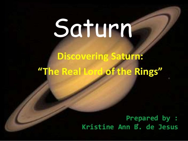 Who Discovered Saturn