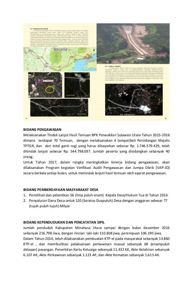 BIDANG PANGAN Pembangunan Gudang Lumbung Pangan di Desa Likupang Satu, Desa Palaes, Desa Tiwoho, Desa Watudambo untuk peny...
