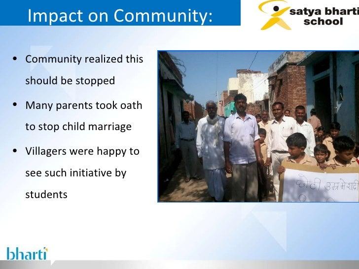 Impact on Community: <ul><li>Community realized this should be stopped  </li></ul><ul><li>Many parents took oath to stop c...