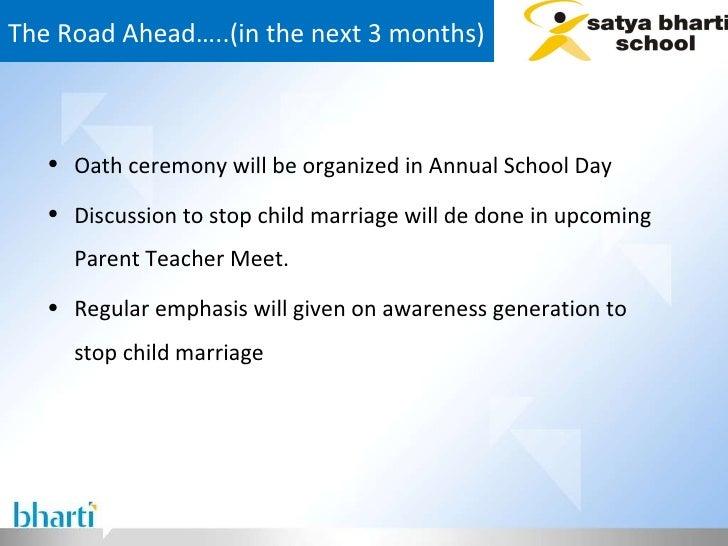 The Road Ahead…..(in the next 3 months) <ul><li>Oath ceremony will be organized in Annual School Day  </li></ul><ul><li>Di...