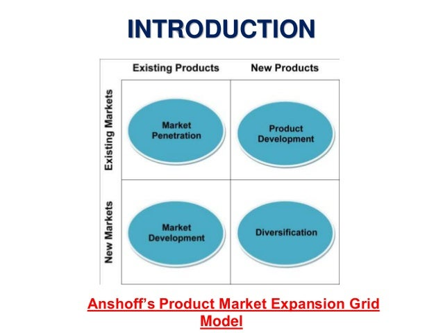 product market expansion grid igor ansoff • igor ansoff's product-market expansion grid • calder & reagan's brand design model • martin lindstrom's 5-d brand sensogram  sector interests include health, retail, and transportation industries he is the author of six books, including health care marketing: tools and techniques, published by jones and bartlett additional.