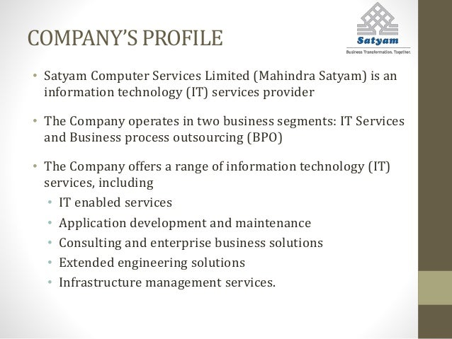 corporate governance issues of satyam computer services limited