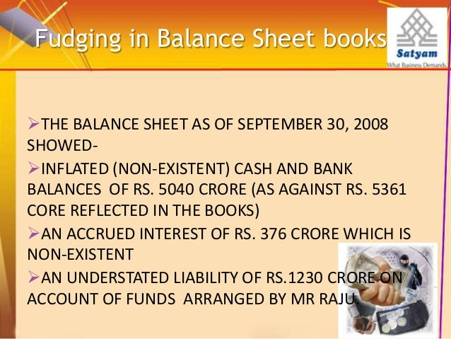how to detect fraud in balance sheet