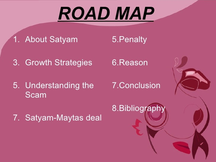 conclusion to satyam scam Satyam - asatyam  appreciating the class action provision in the companies act,  in conclusion we try to understand the application of class action in the.
