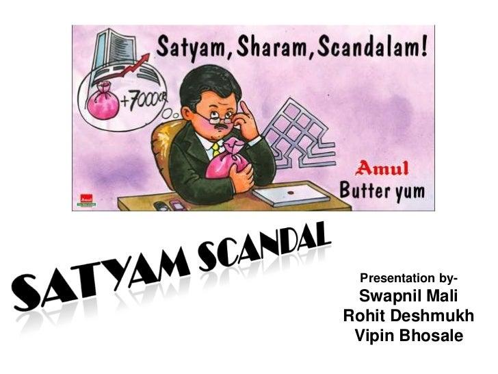 Satyam Scam Pdf