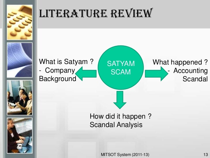 satyam scandal summary
