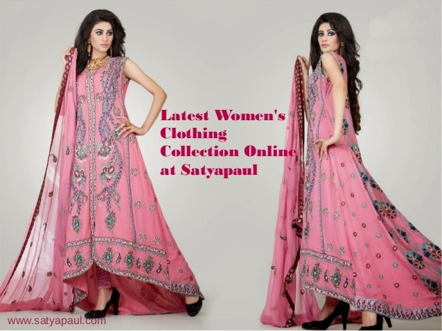 Latest Women's Clothing Collection Online at Satyapaul