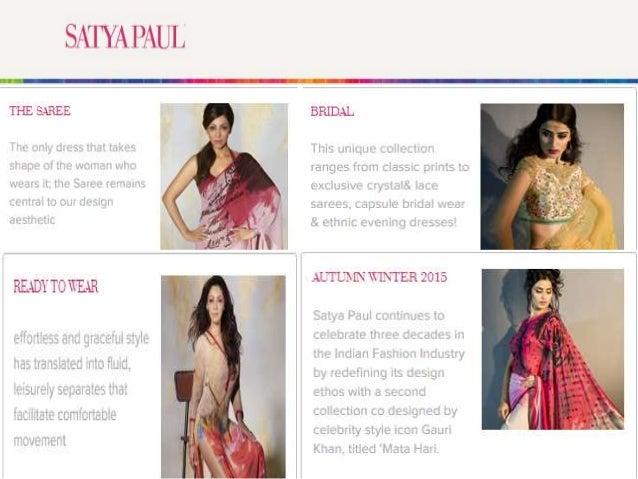 2bfccdbbad Exclusive Satya Paul Bridal Collection