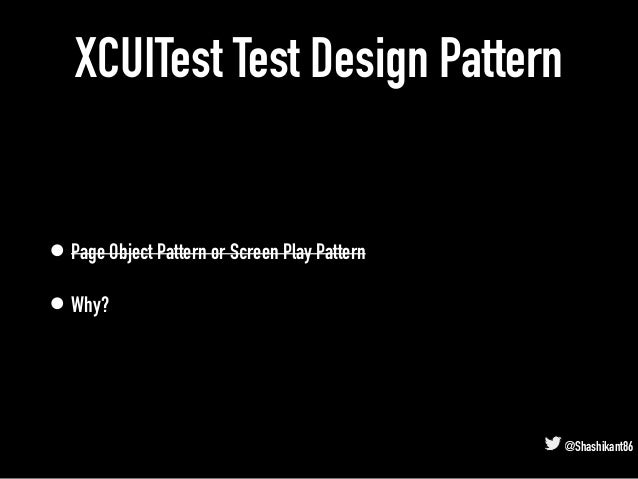 SauceCon19: Fashionable XCUITest for iOS App