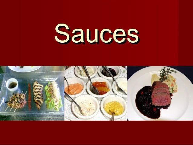 SaucesSauces