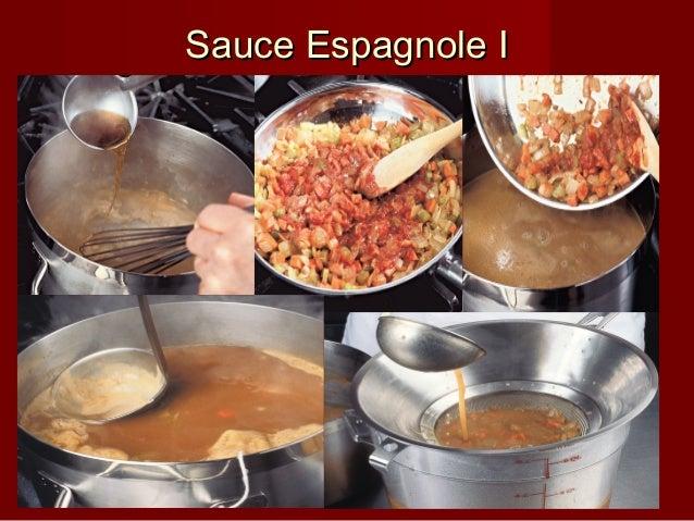Sauce Espagnole ISauce Espagnole I