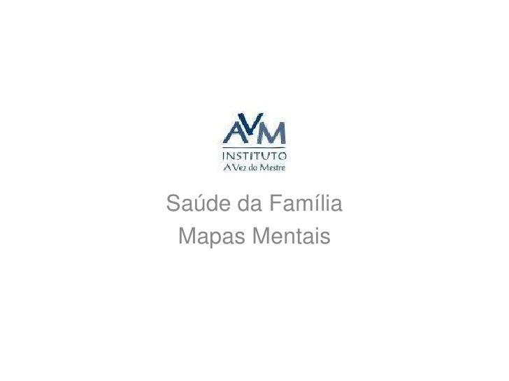 Mapas Mentais: Saúde da Família - IAVM