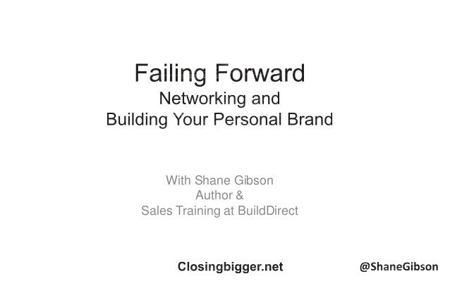 With Shane Gibson Author & Sales Training at BuildDirect