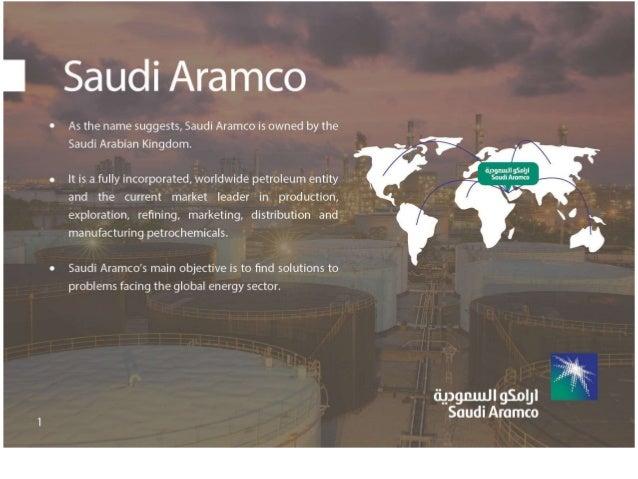 Saudi Aramco custom presentation by Writers Per Hour