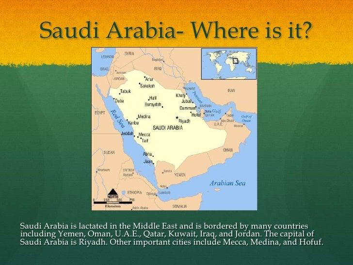 Saudi Arabia - Where is riyadh