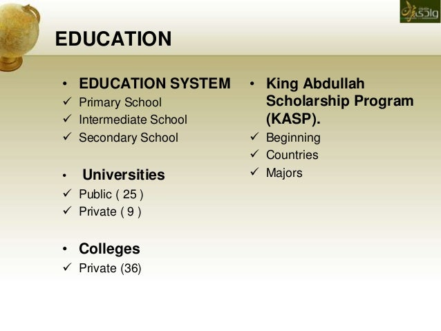 education system in saudi arabia Freedom house's center for religious freedom released a report analyzing a set of saudi ministry of education  saudi arabia's curriculum of  system of education.