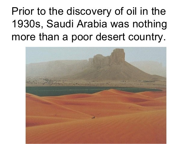 Oil in saudi arabia essay
